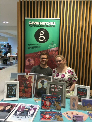 Nottingham Comic Convention 2016 - Gavin Mitchell and Emily Owen