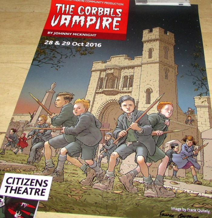 The Gorbals Vampire Poster