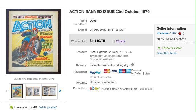 Action 37 - 2016 eBay auction finale