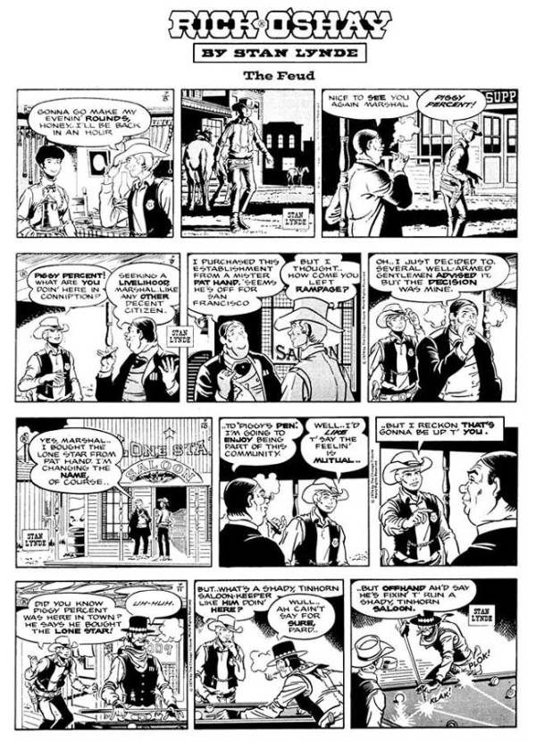 Comics Revue Issue 365-366 - Rick O'Shay