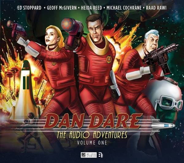 Dan Dare Audio Adventures Volume One - Pack Shot 2