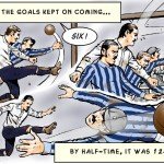 PNE can't stop scoring against Hyde FC, in the 1st round of the 1887 FA Cup.
