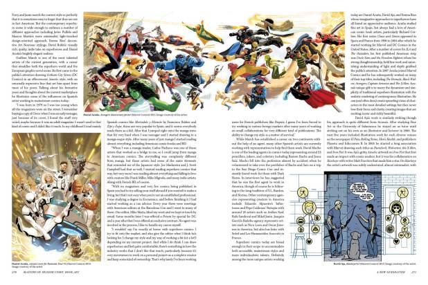 Masters of Spanish Comic Book Art P270-271