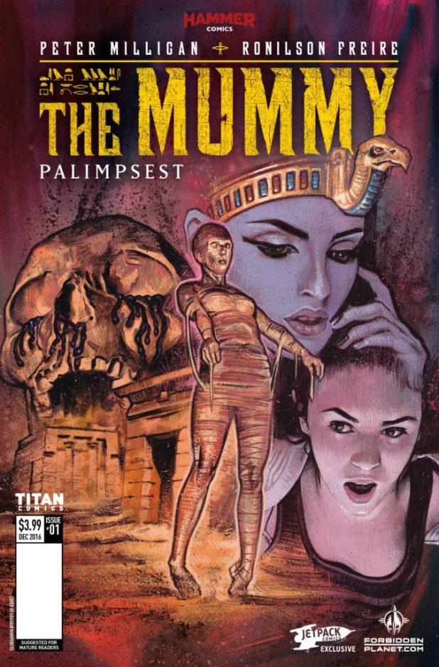 The Mummy #1 - Jetpack Comics / Forbidden Planet variant by Graham Humphreys