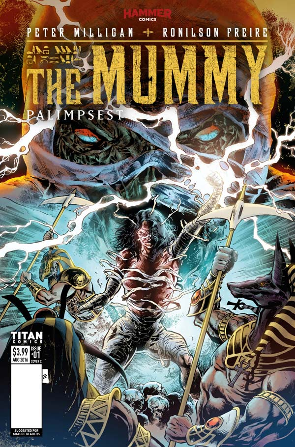 The Mummy #1 Cover C by Ronilson Freire