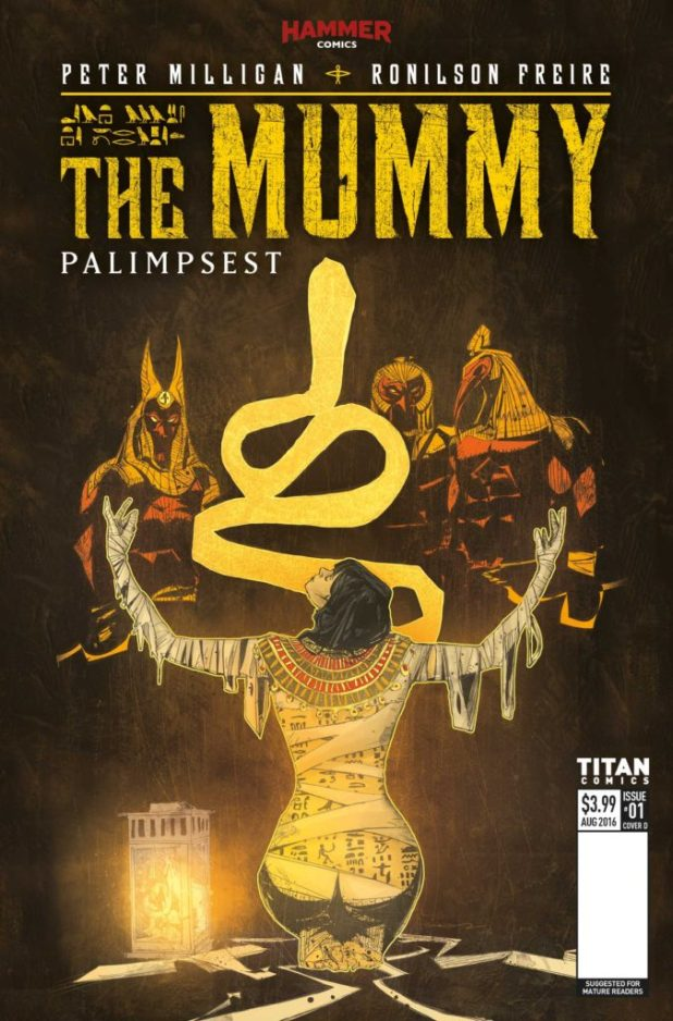 The Mummy #1 Cover D by Felix Ruiz