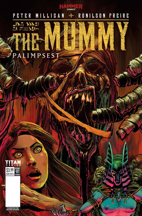 The Mummy #1 Cover E by Jeff Zornow