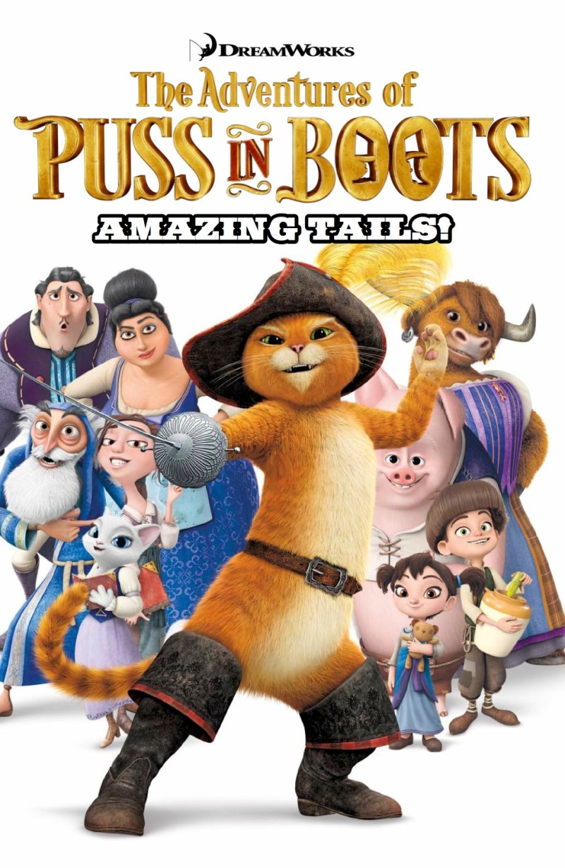 Puss In Boots - Amazing Tails