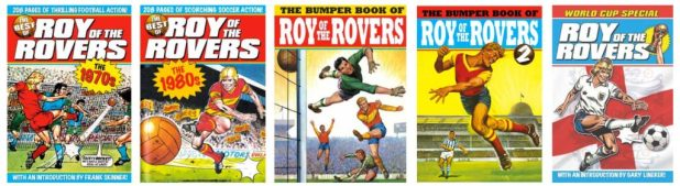 Roy of the Rovers Titan Book