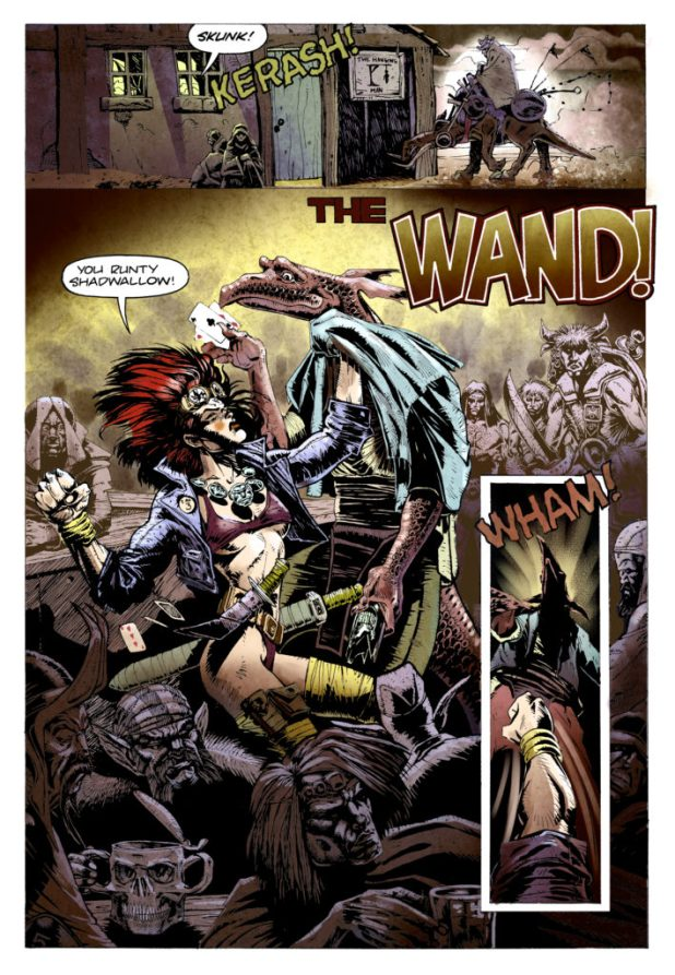 Rourke of the Radlands: The Wand 2016