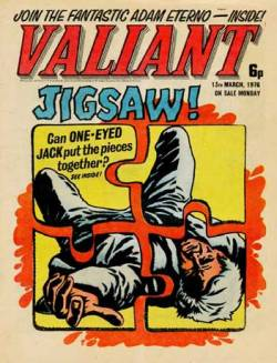 Valiant - Cover dated 30th March 1976