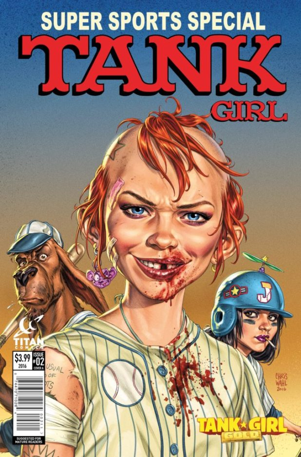 Tank Girl Gold #2 Cover A by Peepland #2 Cover A by Chris Wahl