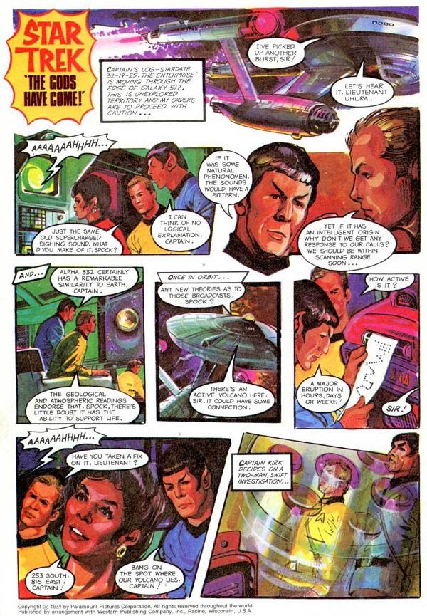 Canning TVC Annual 1979 Star Trek