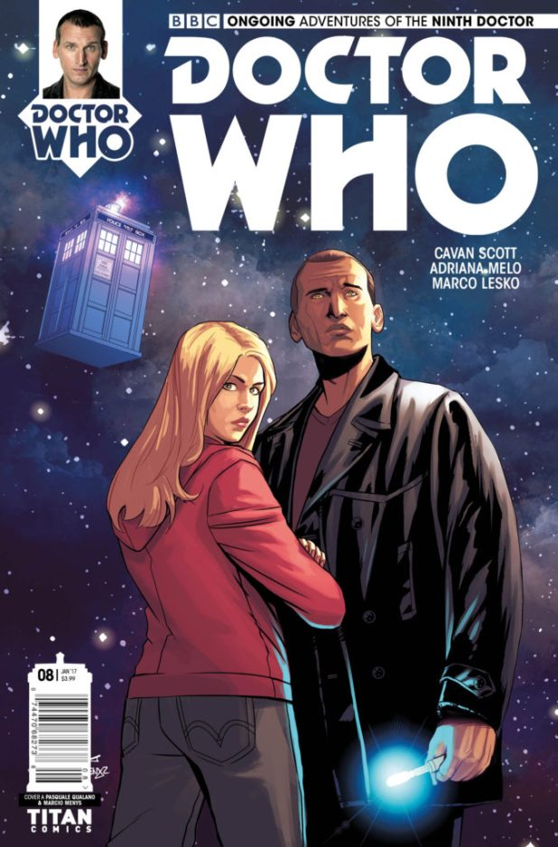 Doctor Who: The Ninth Doctor #8 Cover A