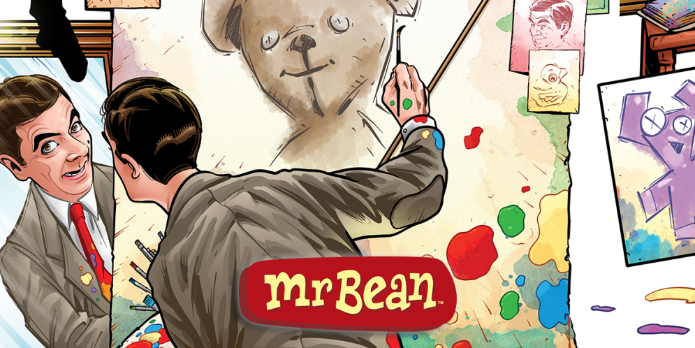 """Dabel Brothers announces """"Mr. Bean"""" comic, will debut in 2017"""