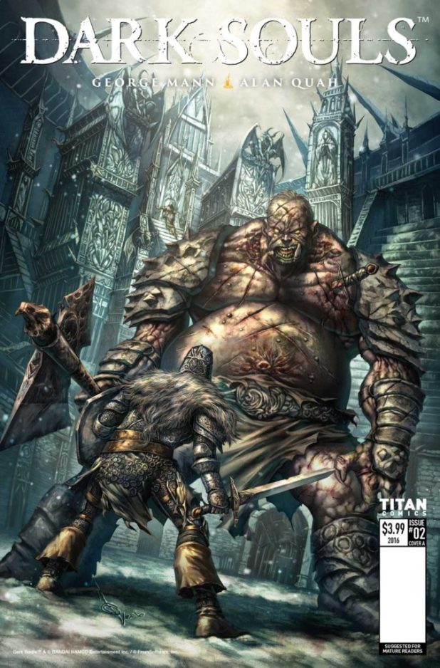 Dark Souls Winters Spite #2 (of 4) - Cover A