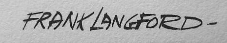 Frank Langford Signature