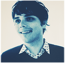 Musician and comic writer Gerard Way