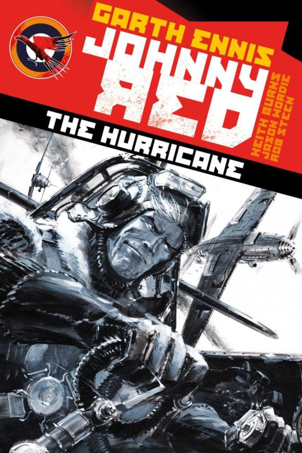 Johnny Red: Hurricane TPB - Cover