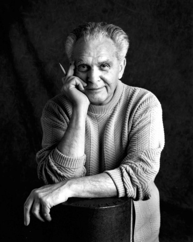 Jack Kirby in 1992. Photo by Susan Skaar - Kirby Museum website, see website for licensing information, CC BY-SA 3.0