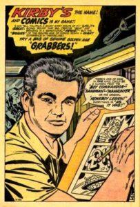 Jack Kirby Self Portrait