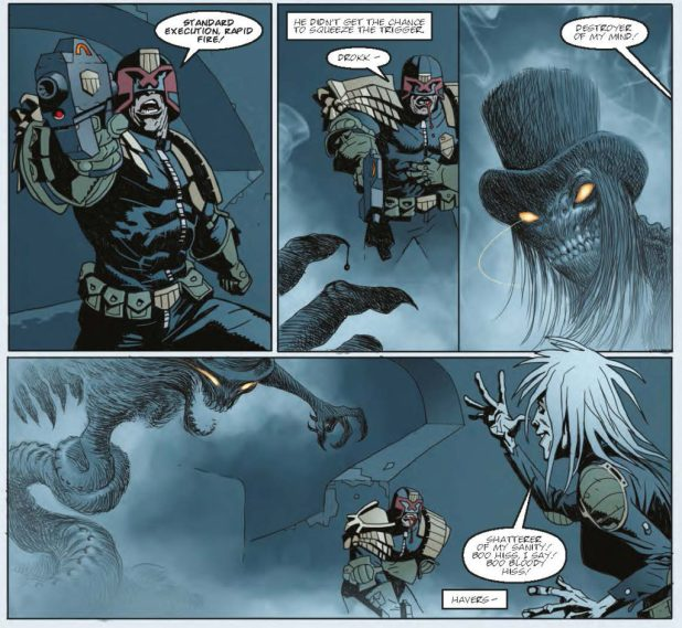 Judge Dredd Megazine 379 - Psicho