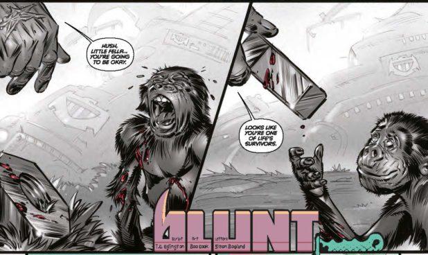 Judge Dredd Megazine 379 - Blunt