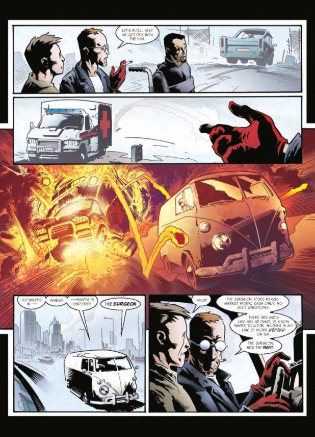 Judge Dredd Megazine 379 - Sinister Dexter