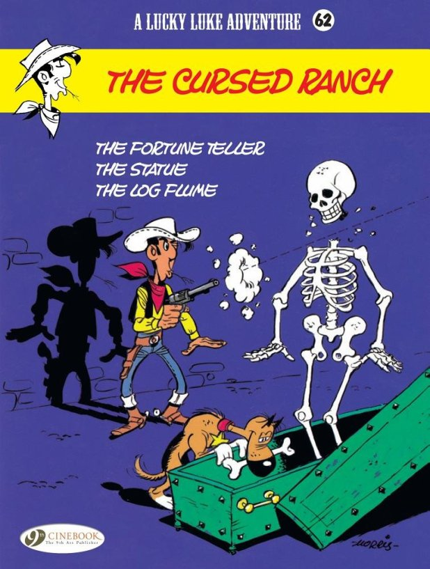 Lucky Luke Volume 62: The Cursed Ranch