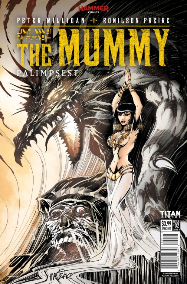 The Mummy (Hammer) #2 (of 5) - Cover A