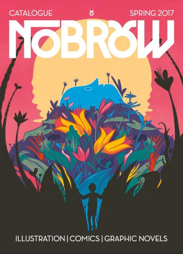 NoBrow Spring 2017 Catalogue Cover