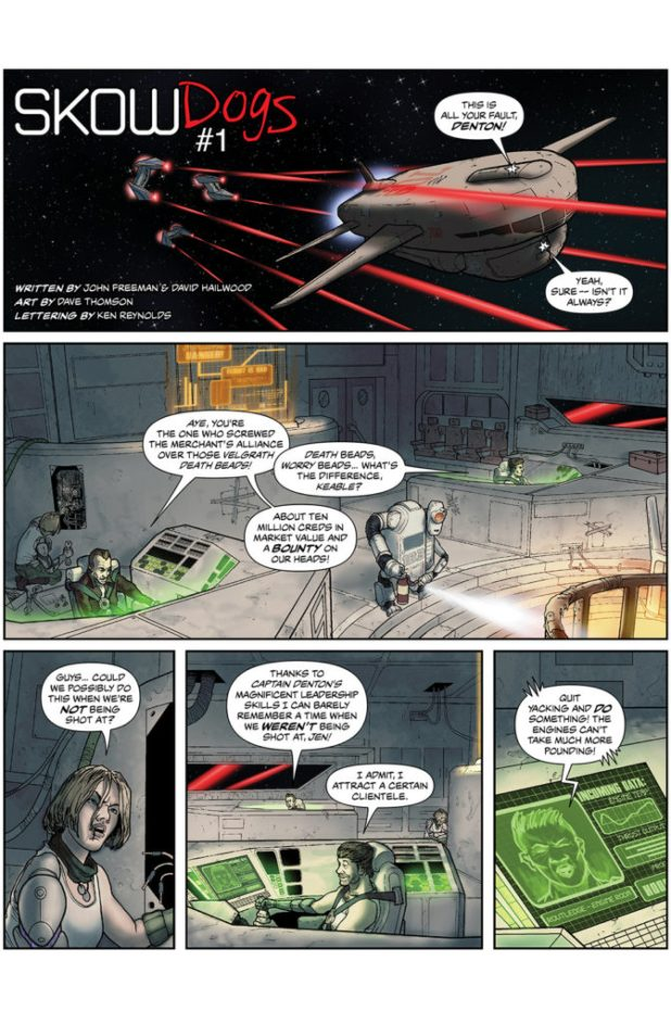 SkowDogs Part One Page One