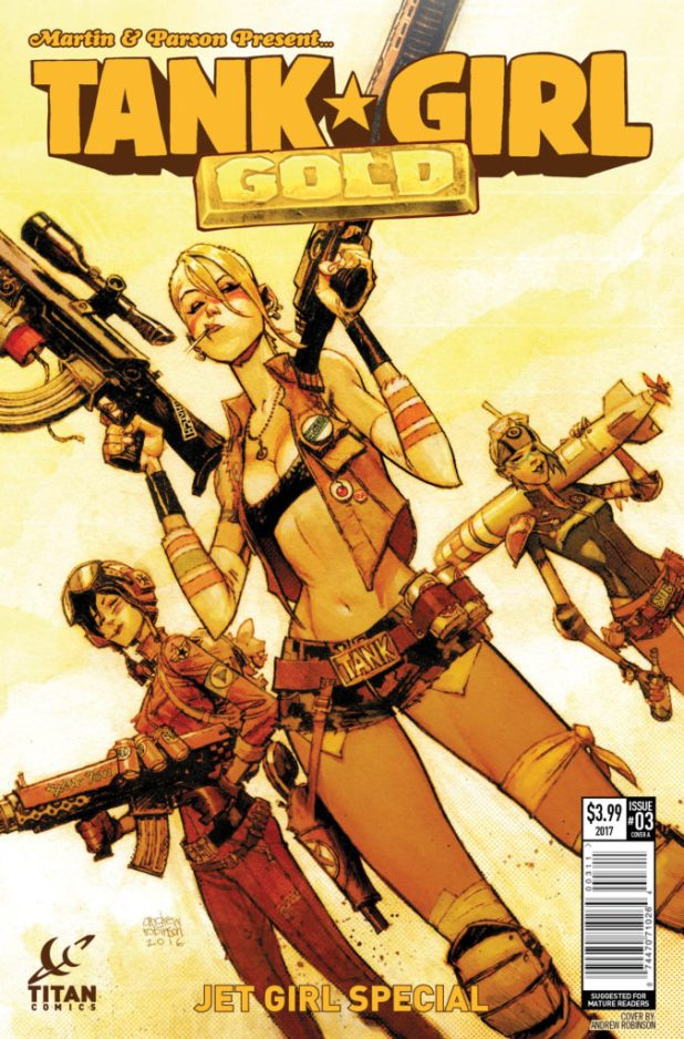 Tank Girl Gold #3 (of 4) - Cover A