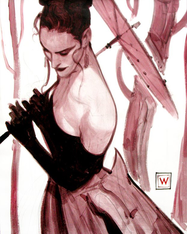 A beautiful character study by John Watkiss