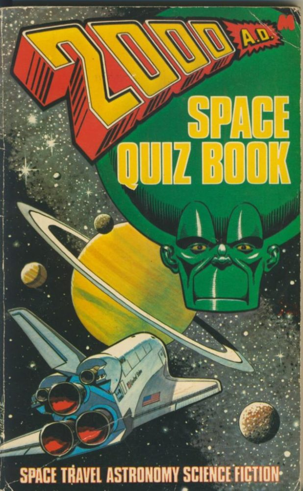 2000AD Space Quiz Book
