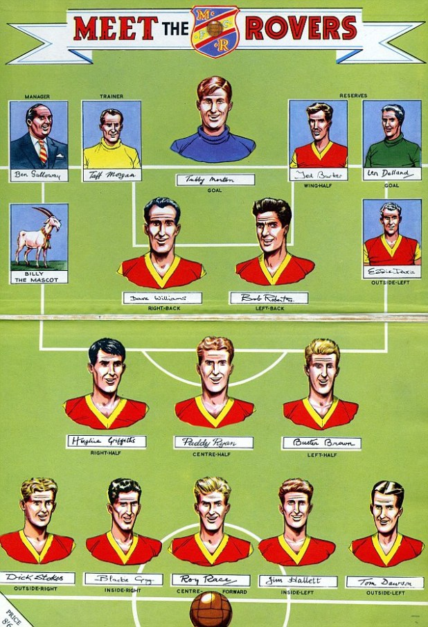 Roy of the Rovers Players