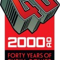 2000AD Forty Years of Thrills Festival Logo