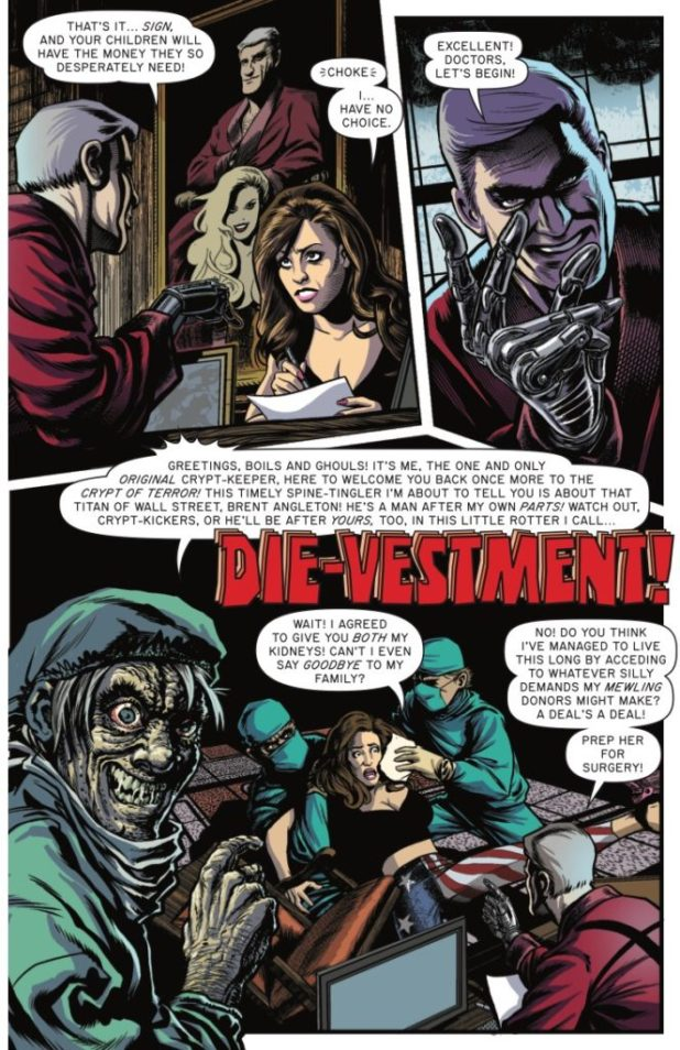 Tales from the Crypt #1 - Die-Vestment