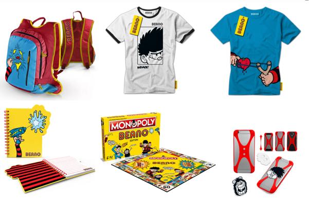 Beano Merchandise 2016