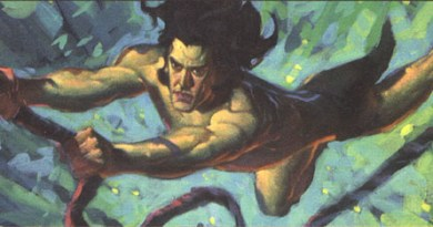 Colour work for the Tarzan animated film by John Watkiss