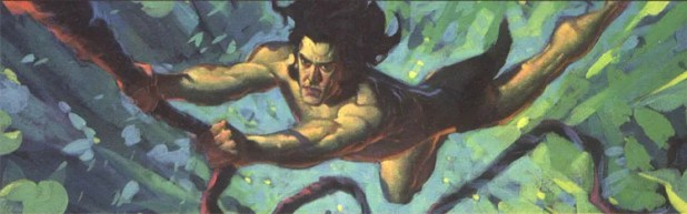 Colour work for the Tarzan animated film by John Watkiss