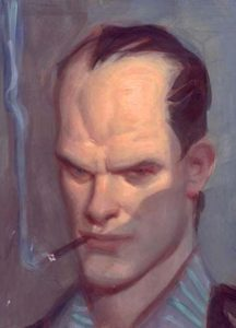 John Watkiss Self Portrait