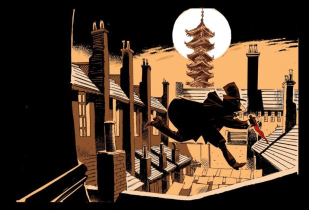 Murder at the Golden Pagoda by Anthony Zicari and Oscar Capristo