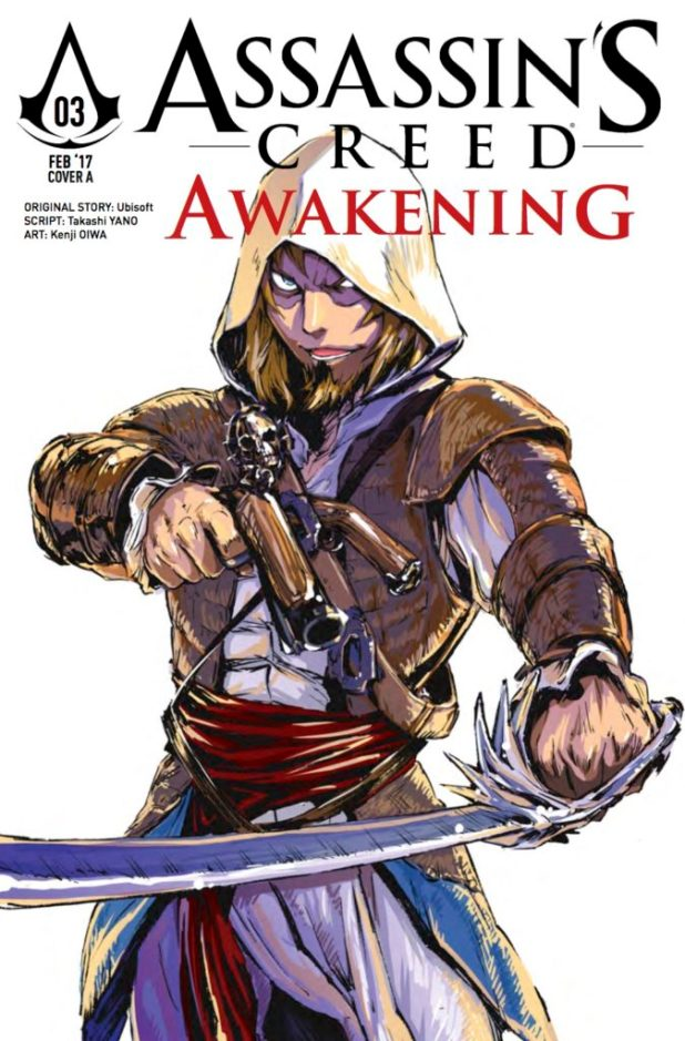 Assassin's Creed Awakenings #3 Cover A: Oiwa Kenji