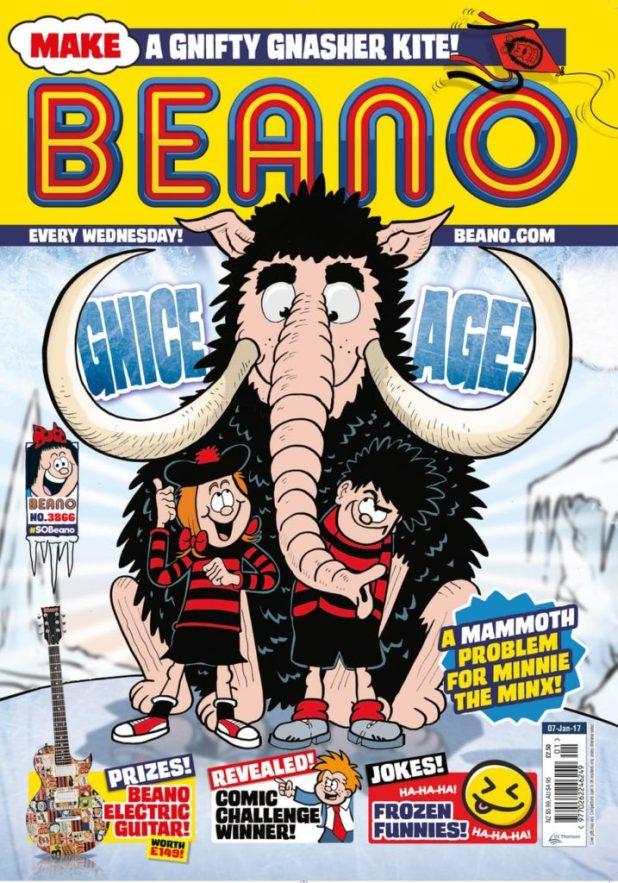 Beano 3866 - Cover