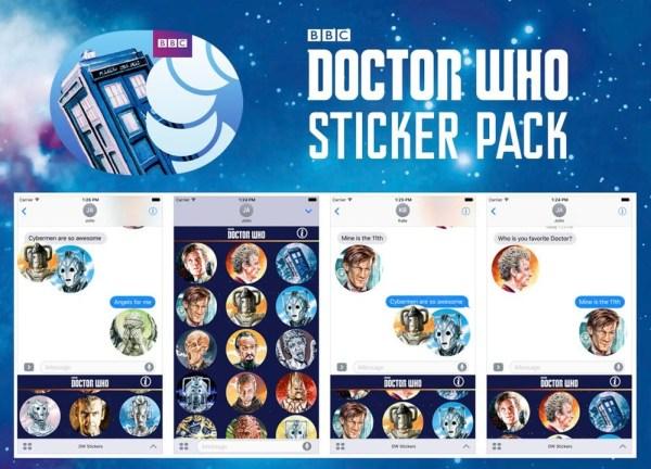 Doctor Who Sticker Pack by Graeme Neil Reid