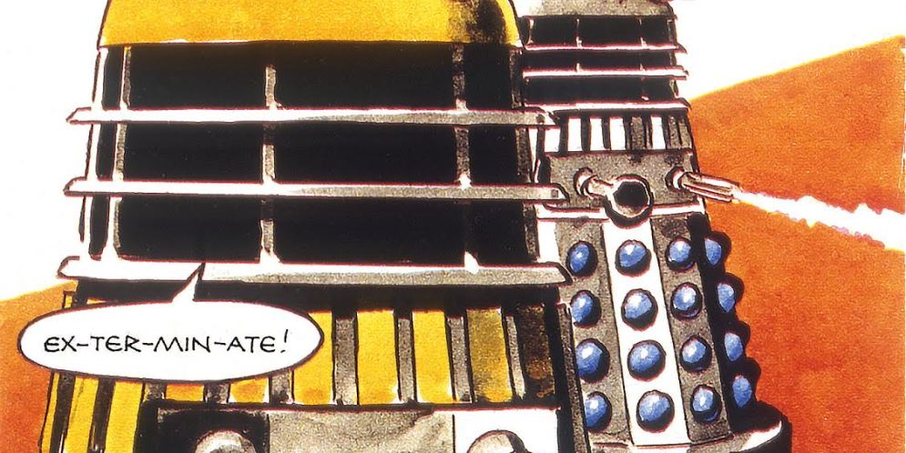 Groovy, Baby! Doctor Who Magazine Goes Retro with free Dalek-infested classic comic giveaway