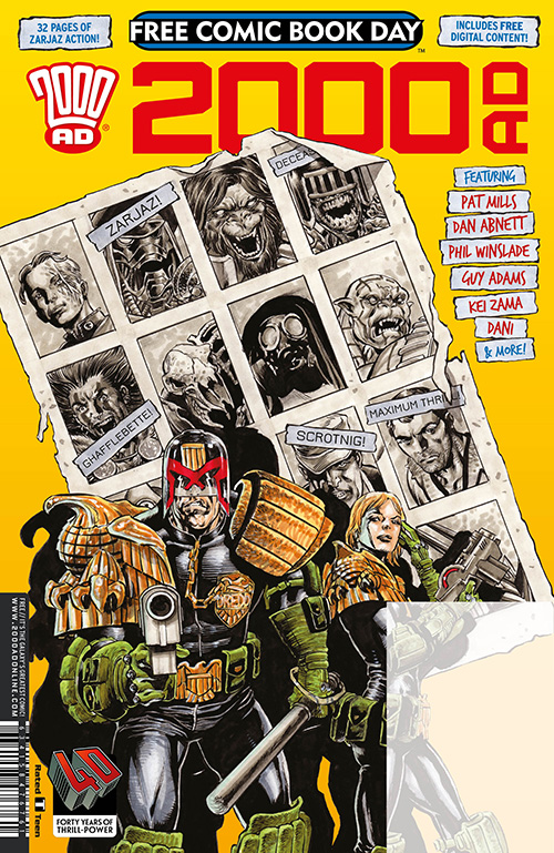 Free Comic Book Day 2017 - 2000AD