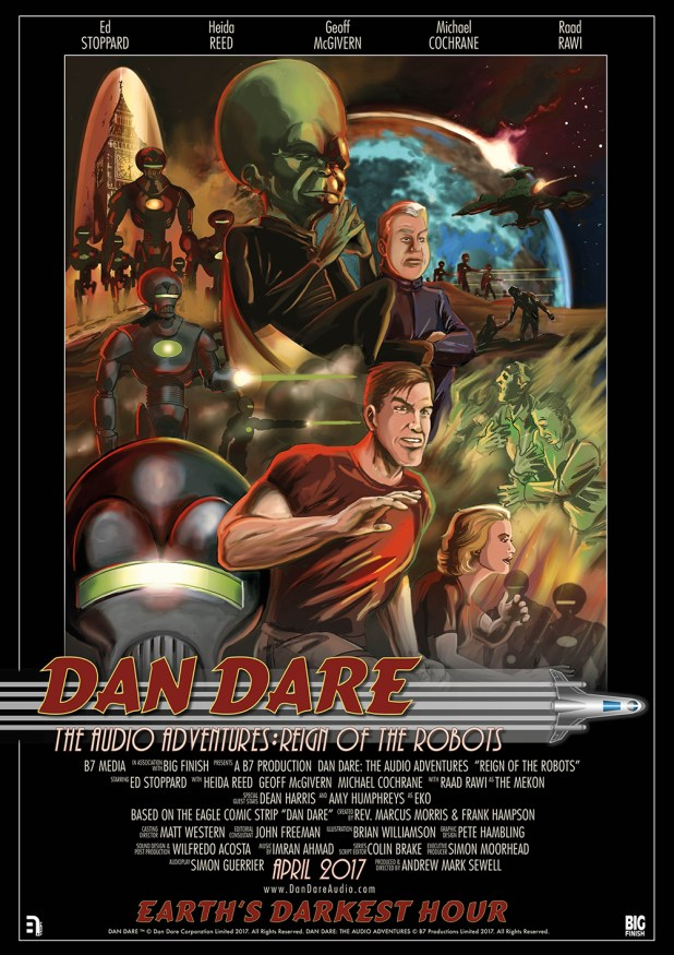 Dan Dare Audio Adventures: Reign of the Robots