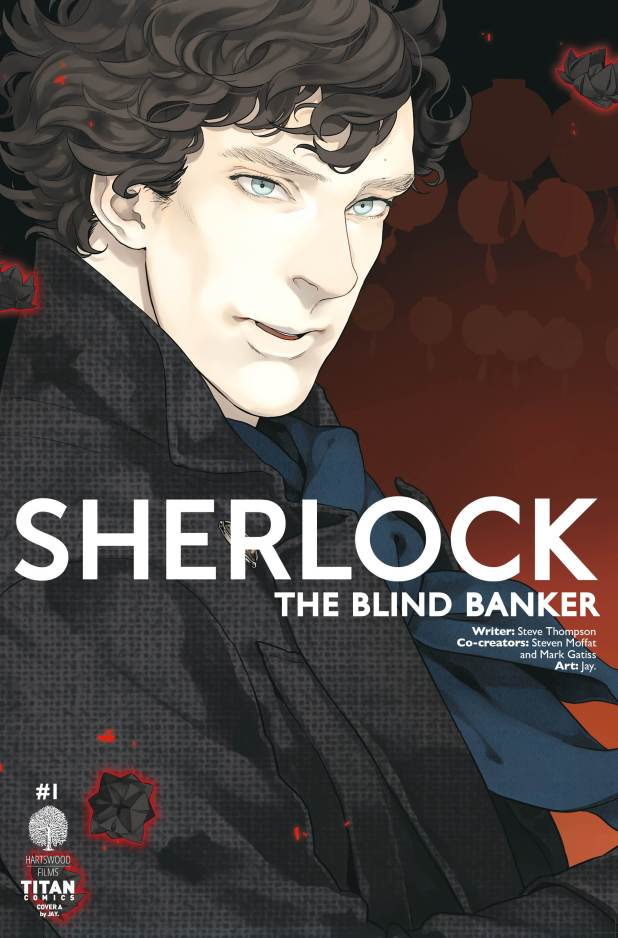 Sherlock: The Blind Banker #1 Cover A by Jay